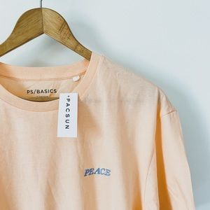 NWT Oversized PS Basics Peace Tee